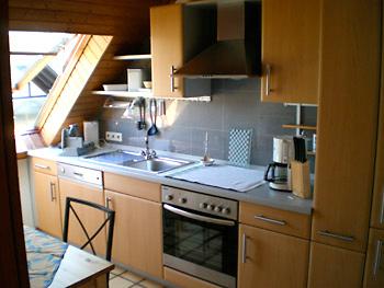 Ferienwohnung Hammes - Küche