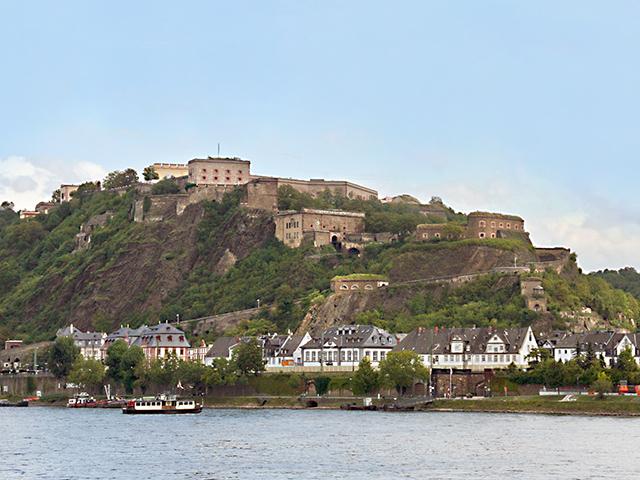 Festung Ehrenbreitstein - Koblenz