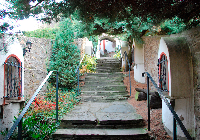 Treppenaufgang zur Alten St. Michaelskirche